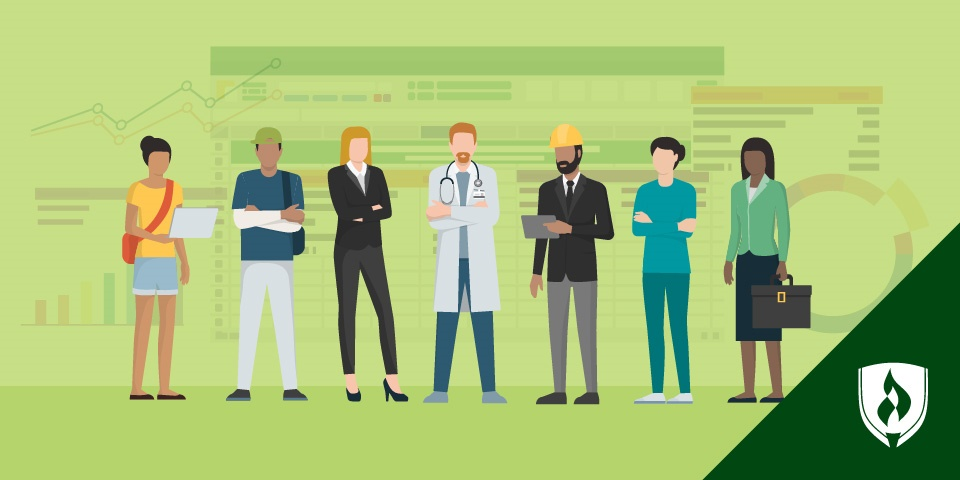 Graph paper with pencils and rulers