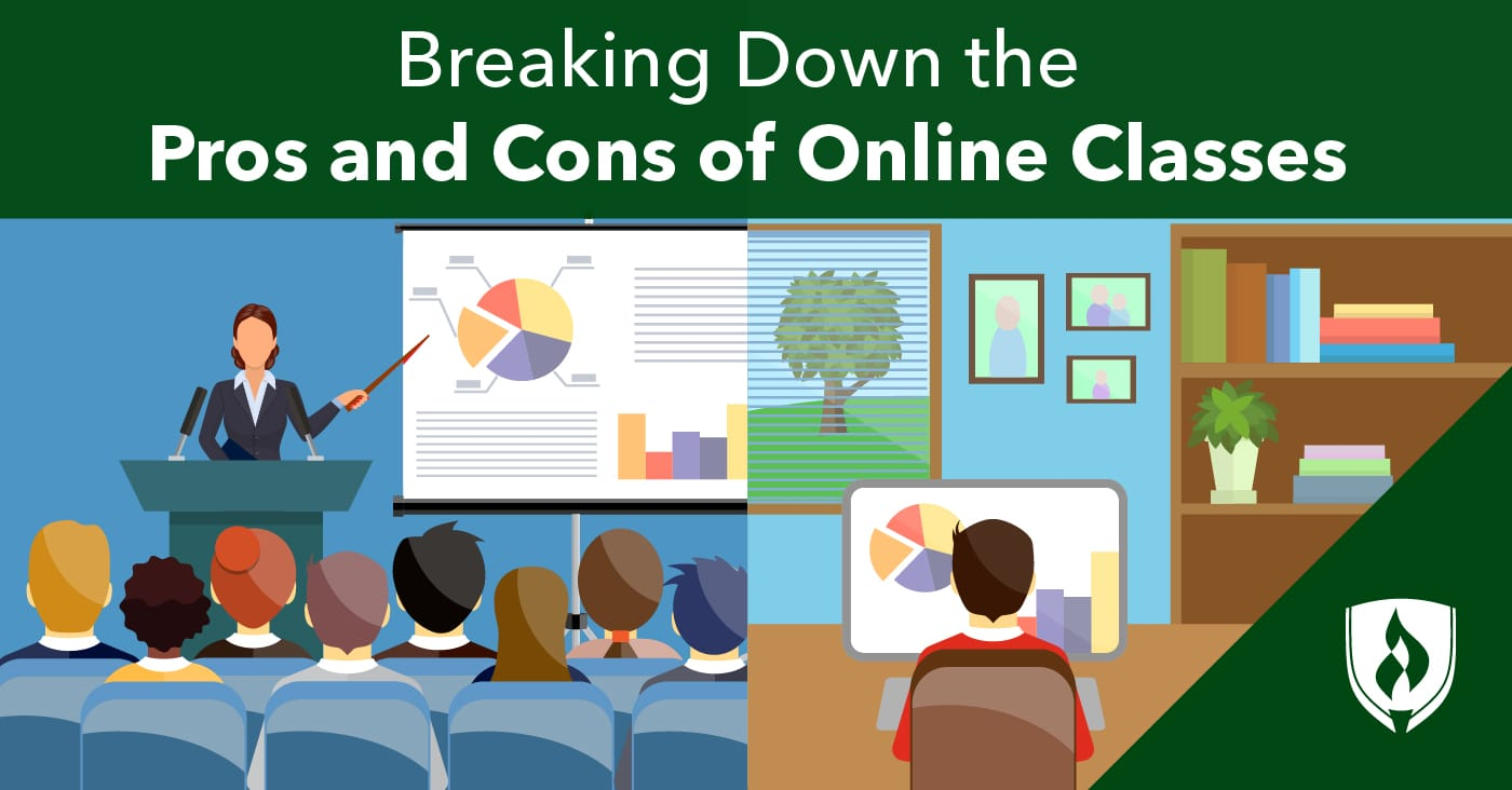Breaking Down the Pros and Cons of Online Classes | Rasmussen College