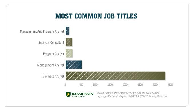 Most Common Job Titles
