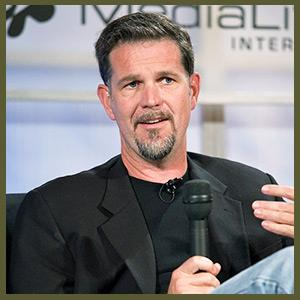 Entrepreneur Reed Hastings