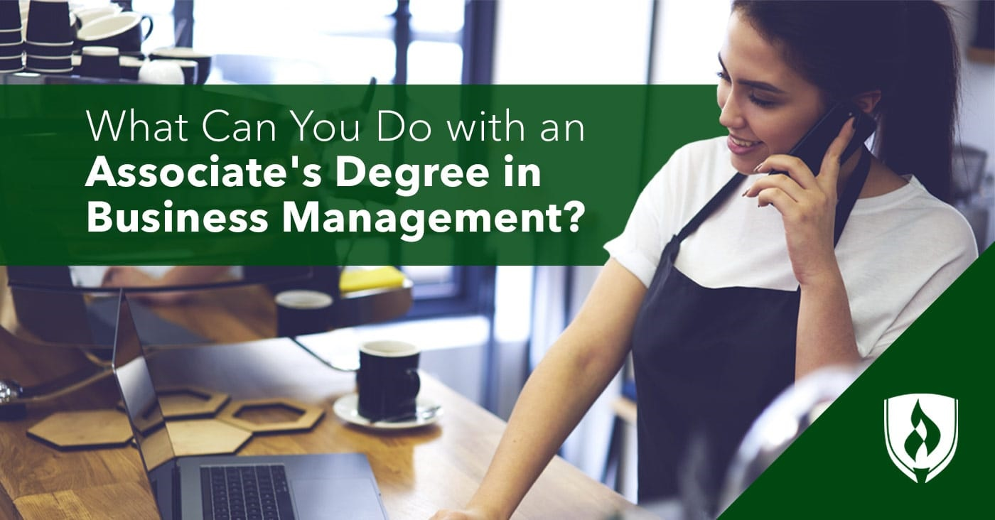 What Can You Do With An Associate S Degree In Business Management