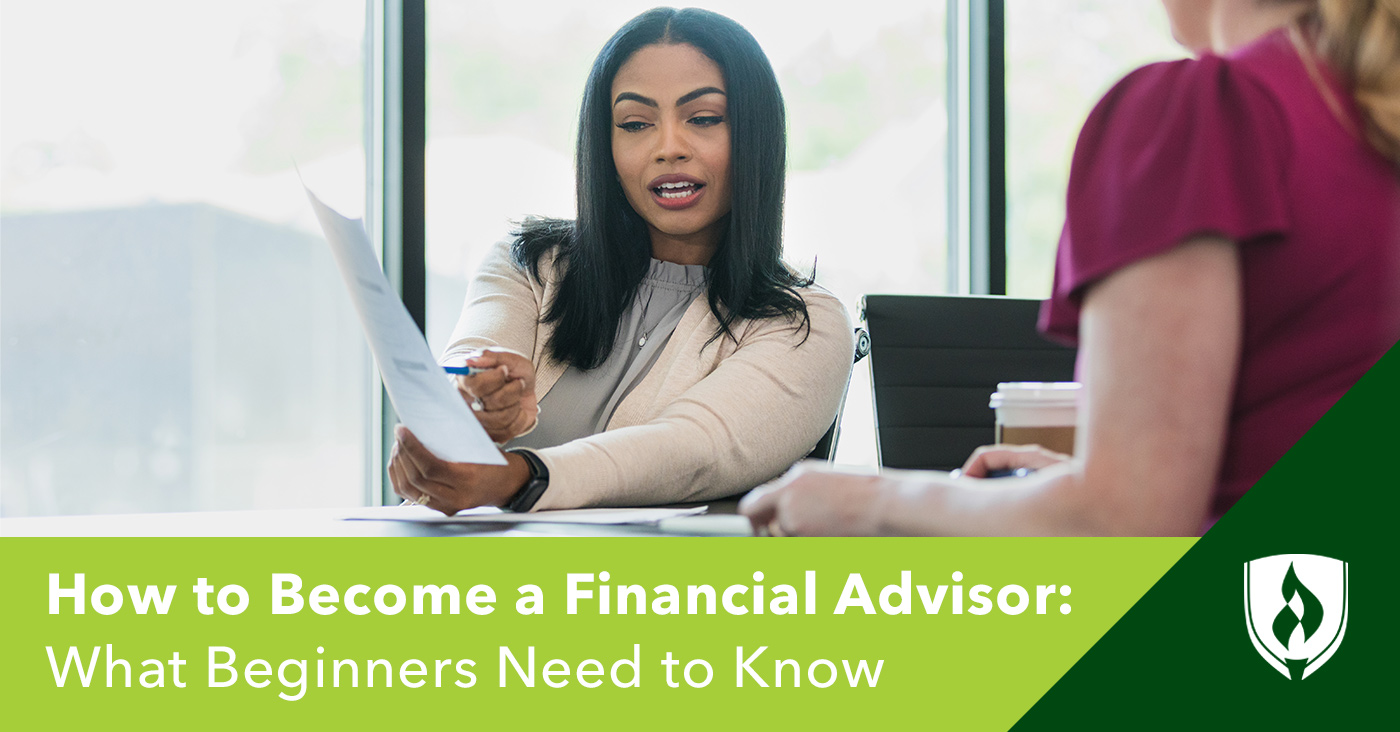 Everything you need to know about becoming a financial advisor