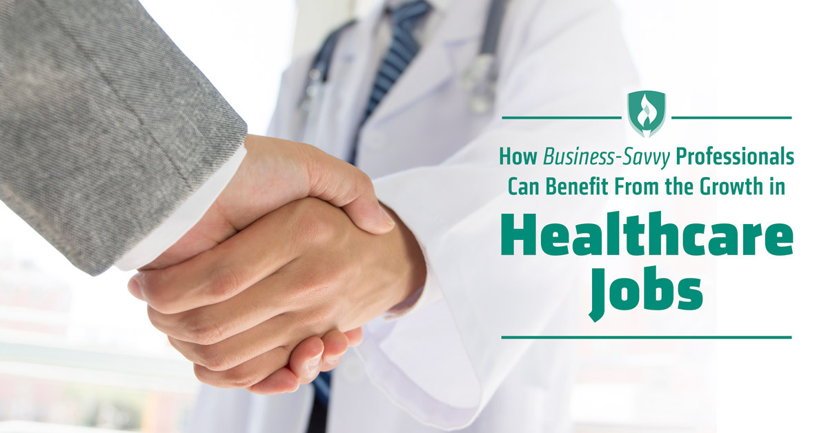 business jobs in healthcare