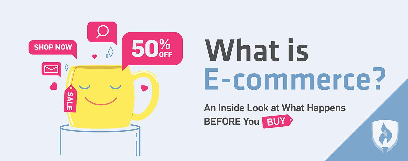 What is e-commerce? The role of digital marketing