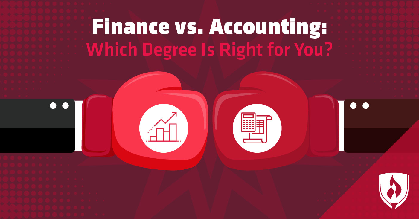 finance vs accounting