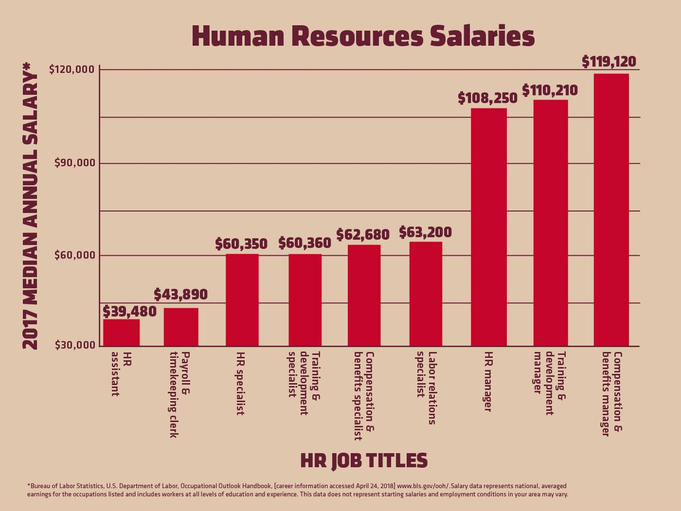 Human Resources Officer Average Salary in Nigeria 2019