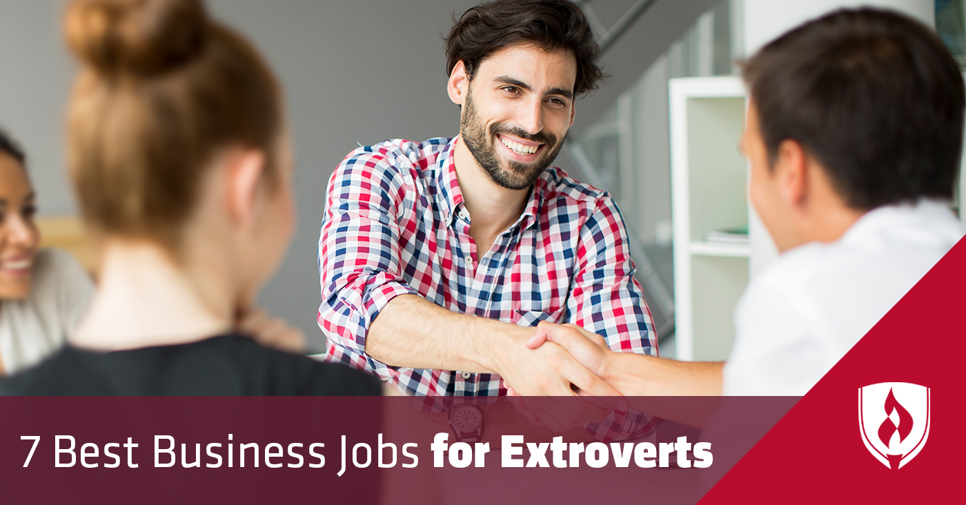 best business jobs for extroverts