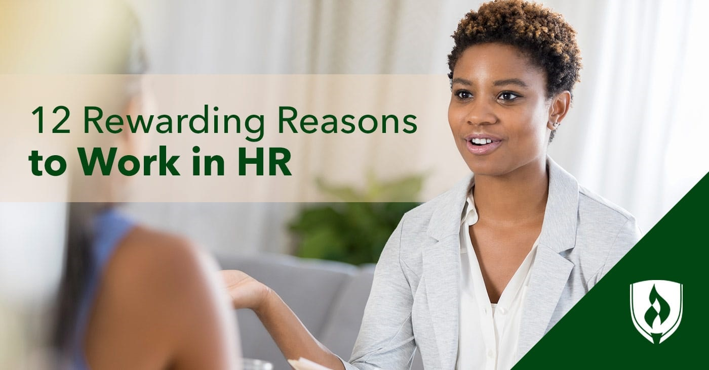 Reasons to work in HR