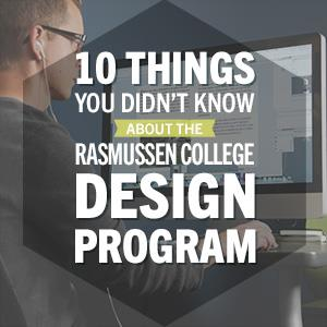 10 things about rasmussen college graphic design program