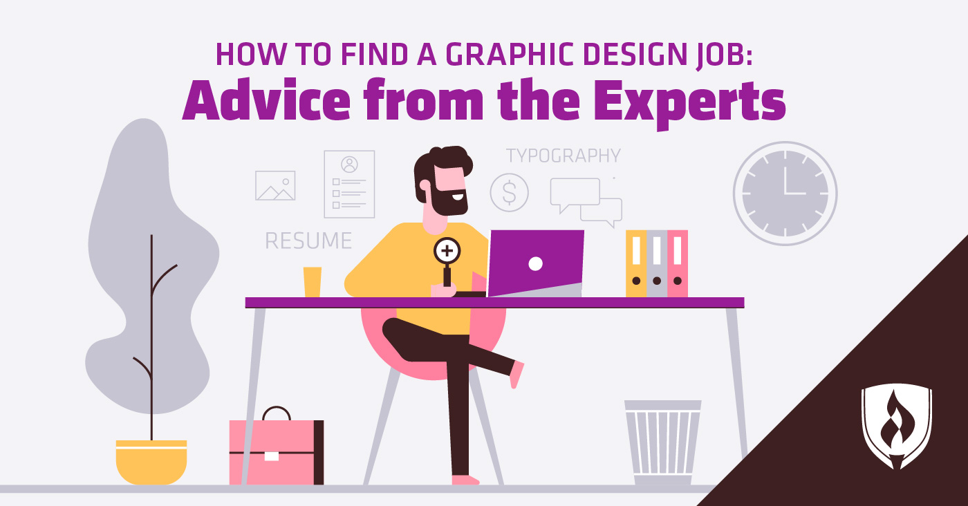How to Find a Graphic Design Job: Advice from the Experts - Rasmussen University