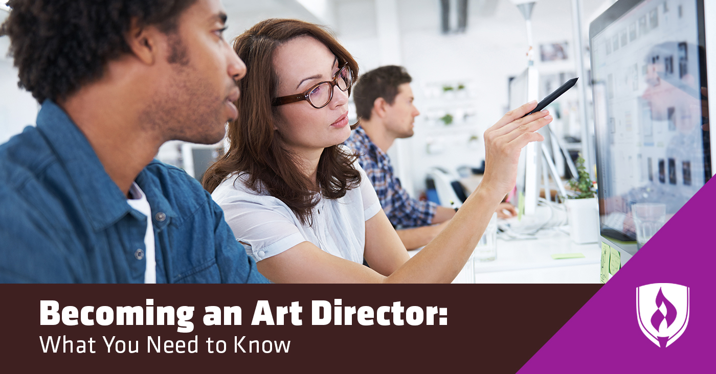 becoming an art director