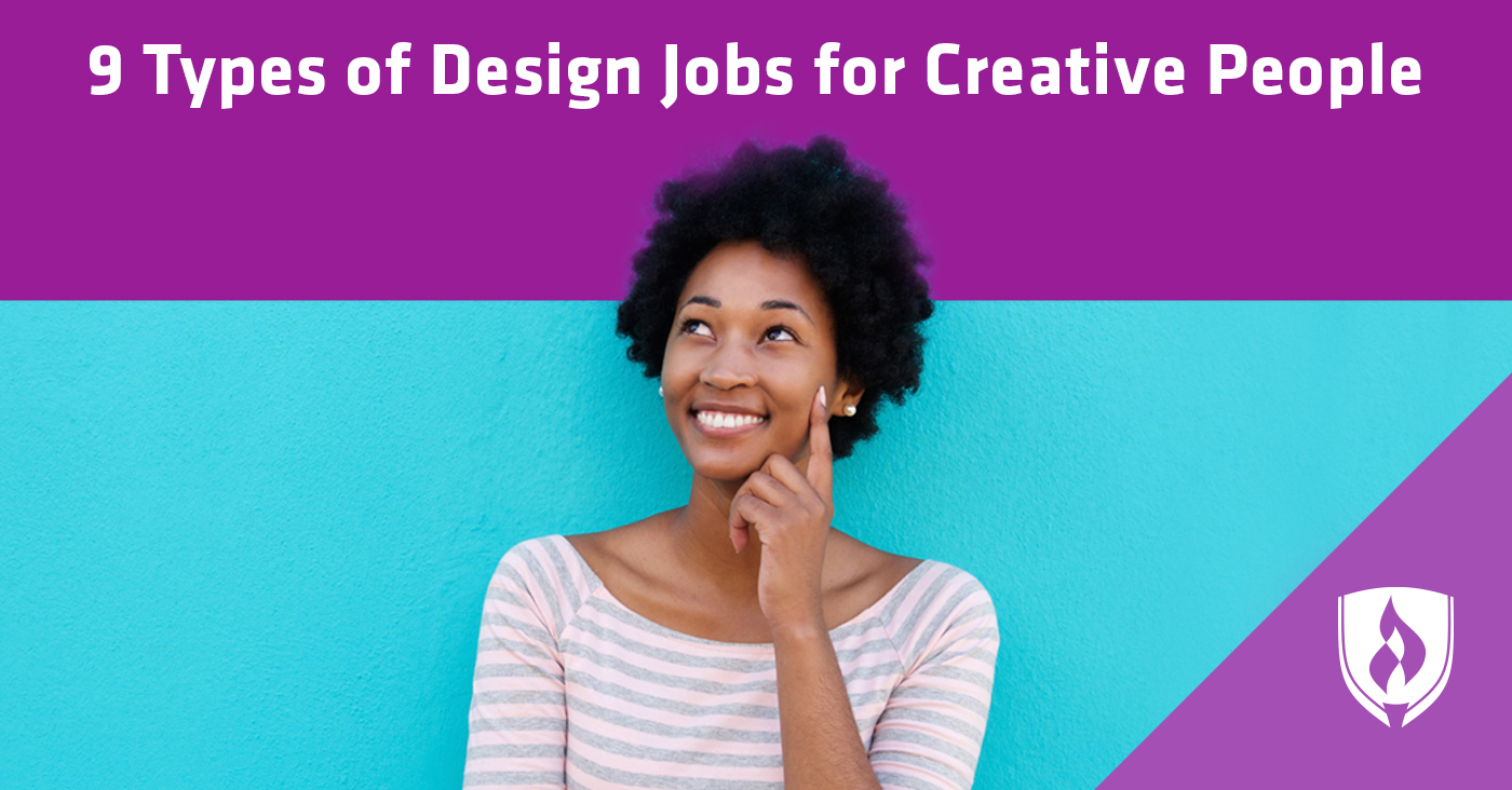 9 Types of Design Jobs for Creative People | Rasmussen College