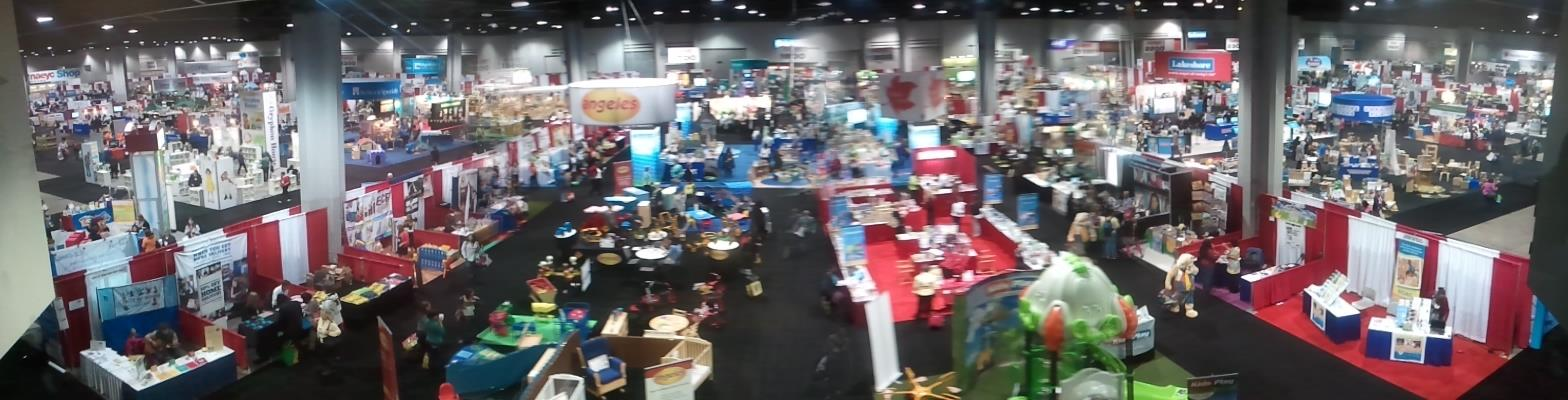 The NAEYC Annual Conference exhibit floor in Georgia