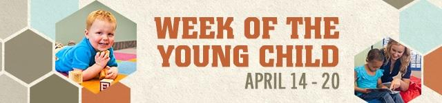 Week of the Young Child banner