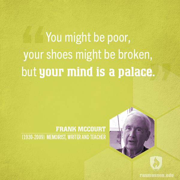 ECE quote by Frank McCourt