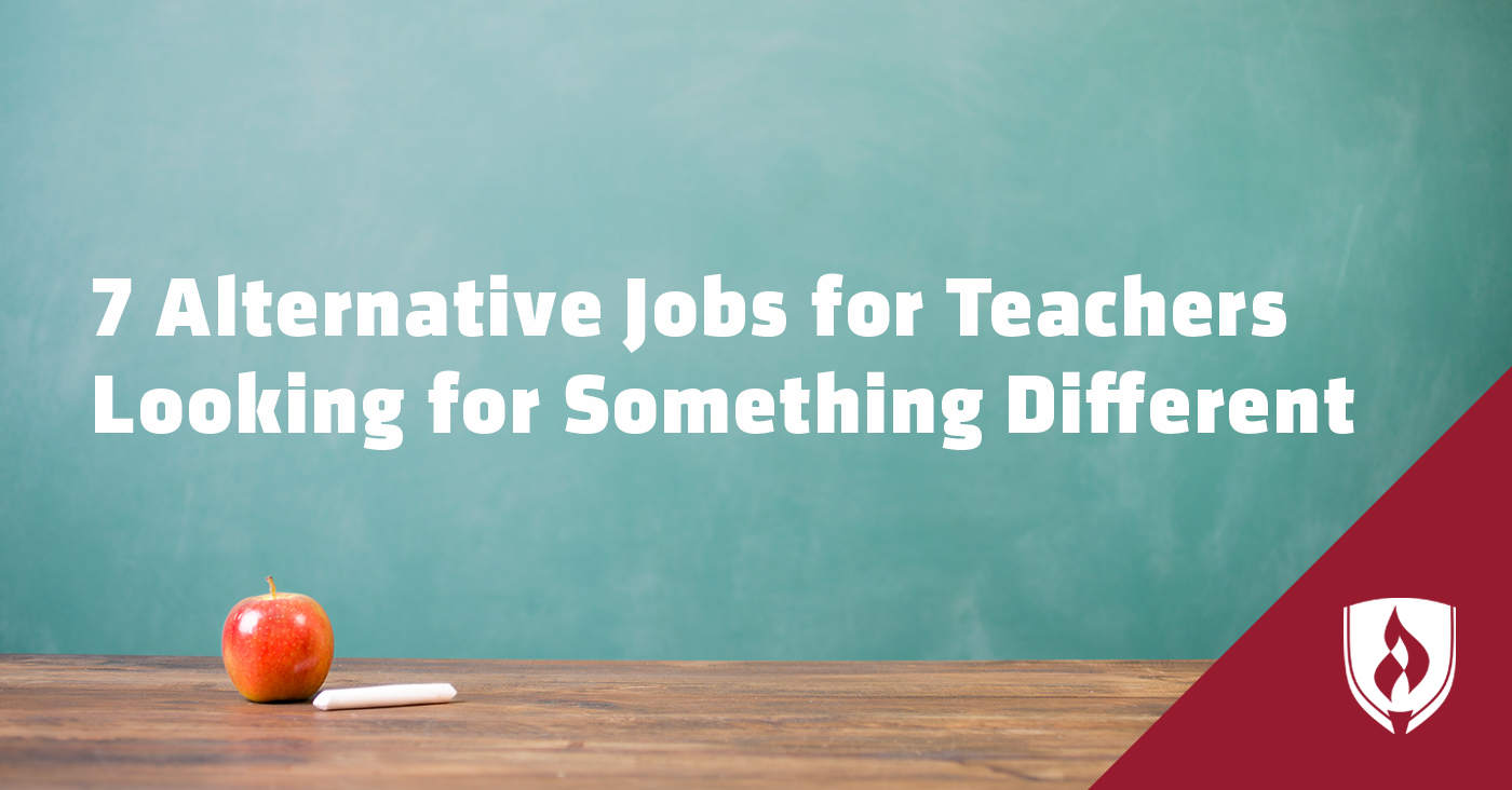 alternative jobs for teachers