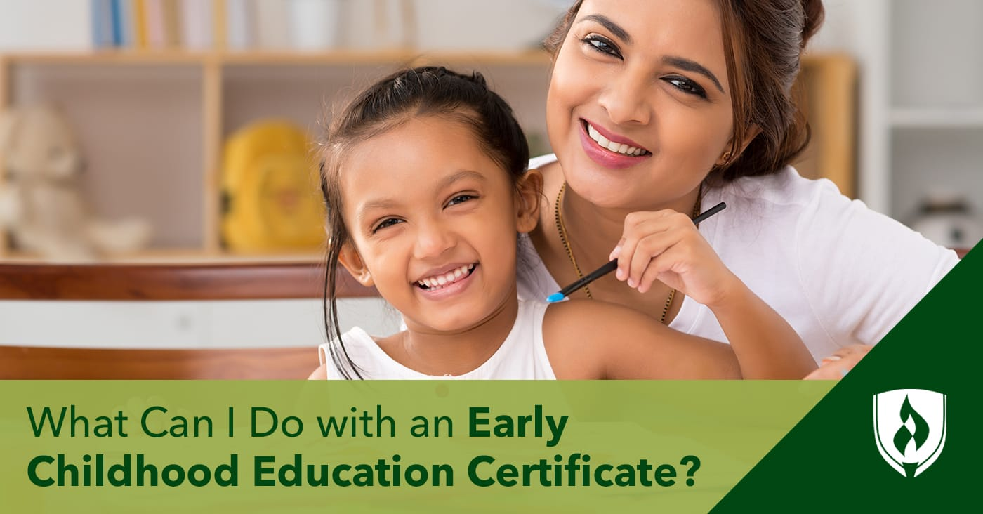 What Can I Do With An Early Childhood Education Certificate