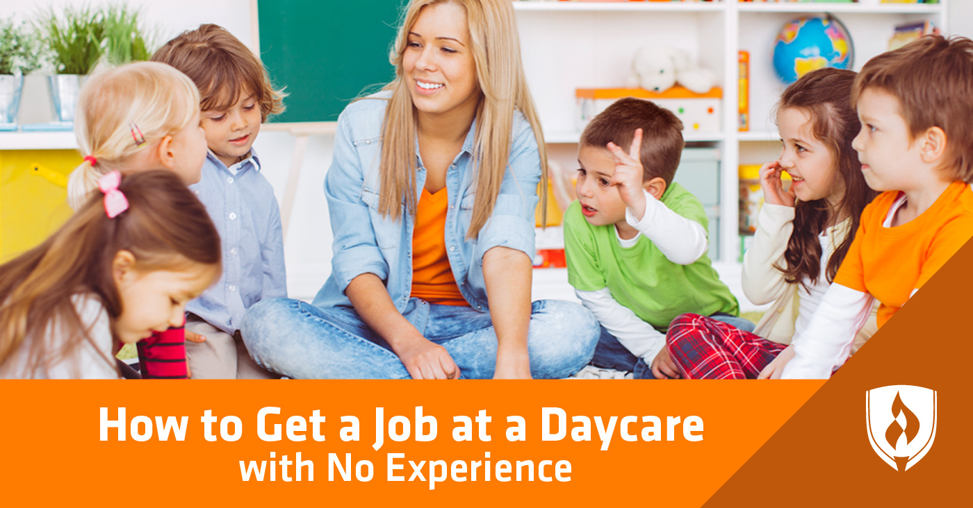 daycare job without experience