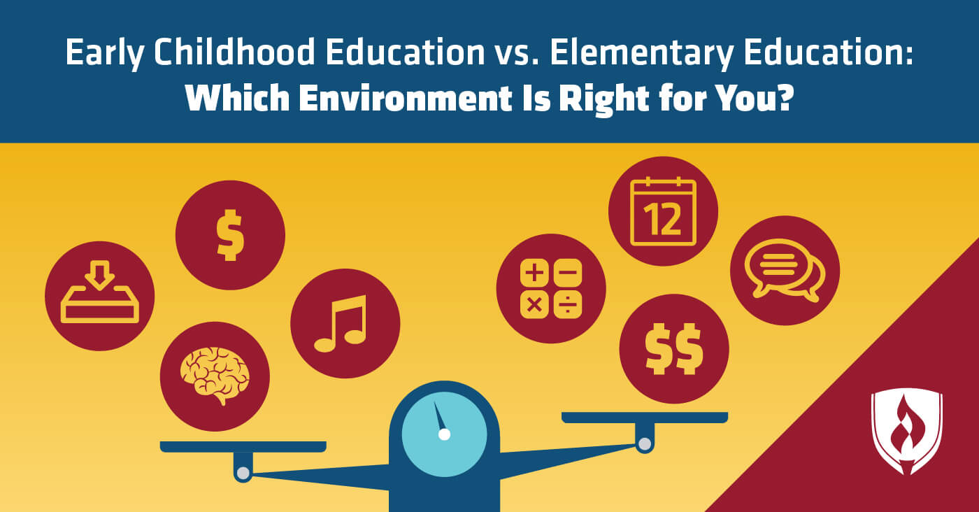 Early Childhood Education vs  Elementary Education: Which