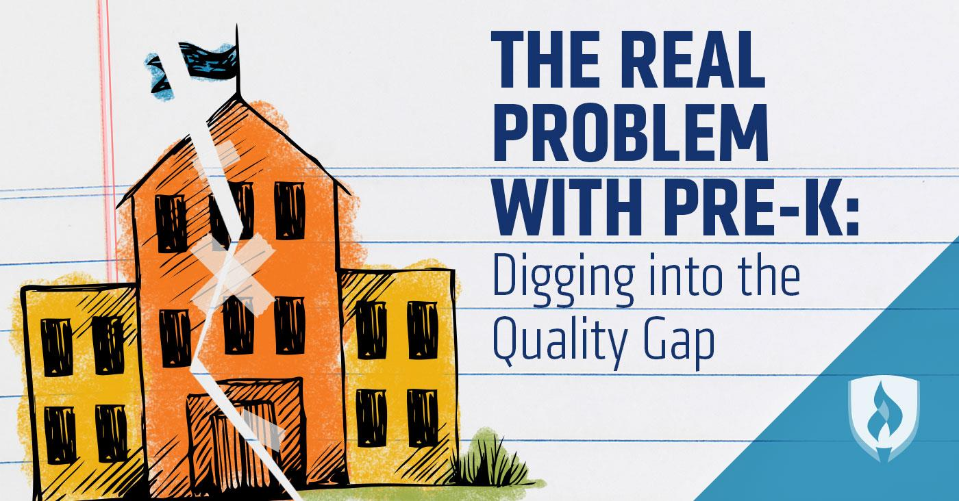 Study High Quality Early Education >> The Real Problem With Pre K Digging Into The Quality Gap