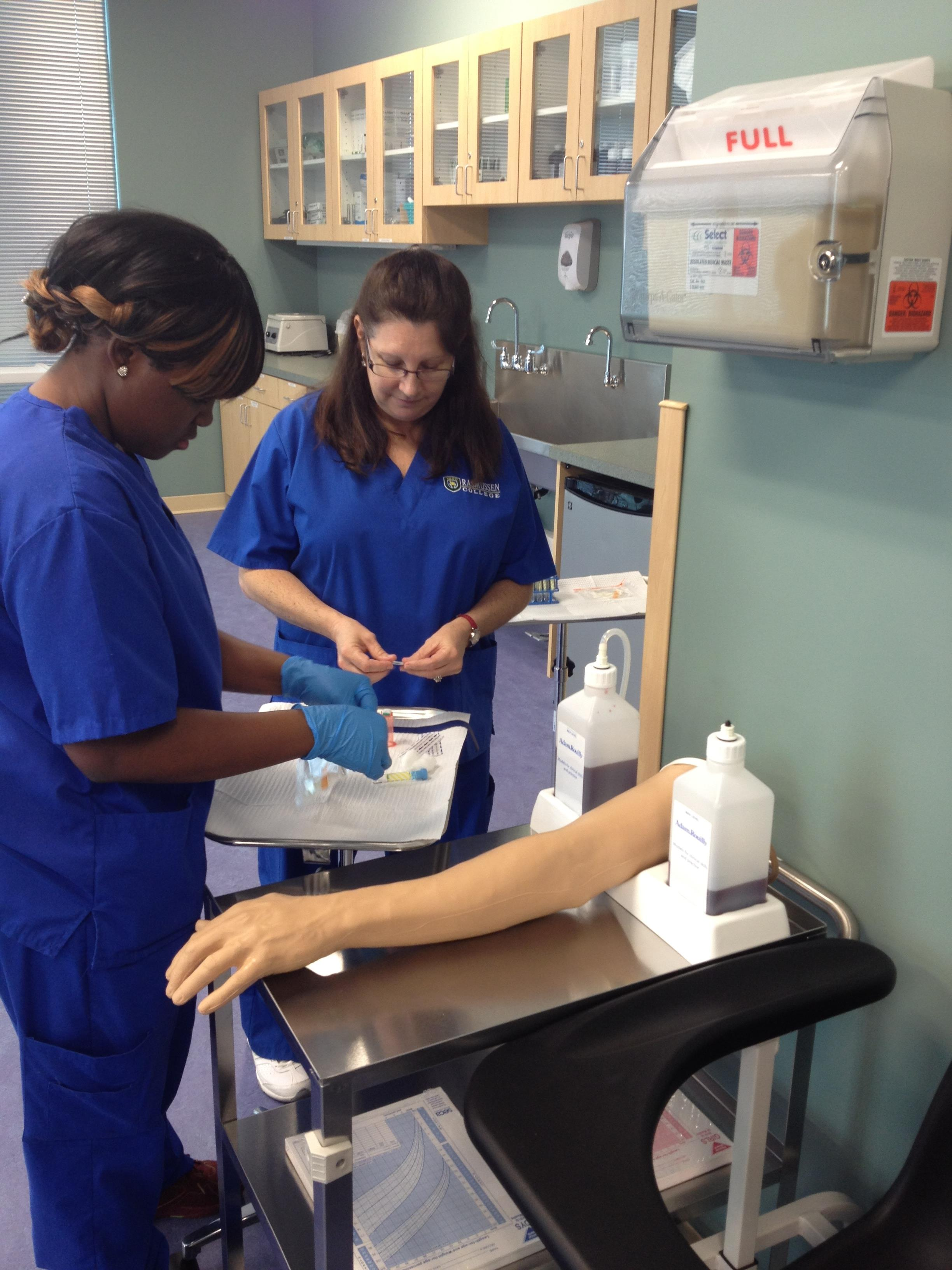 Medical Assisting School Students
