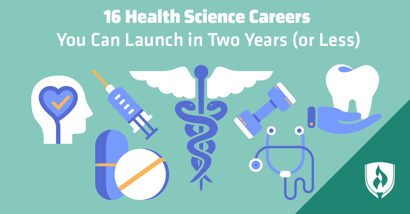 health science careers sciences healthcare years launch less medical field college degrees rasmussen fields job secret students