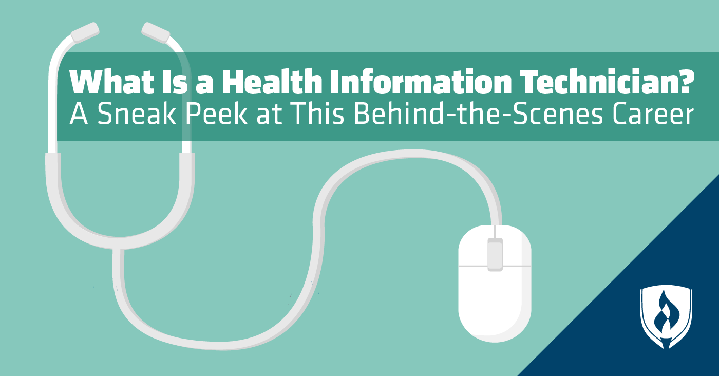 What Is A Health Information Technician A Sneak Peek At This Behind