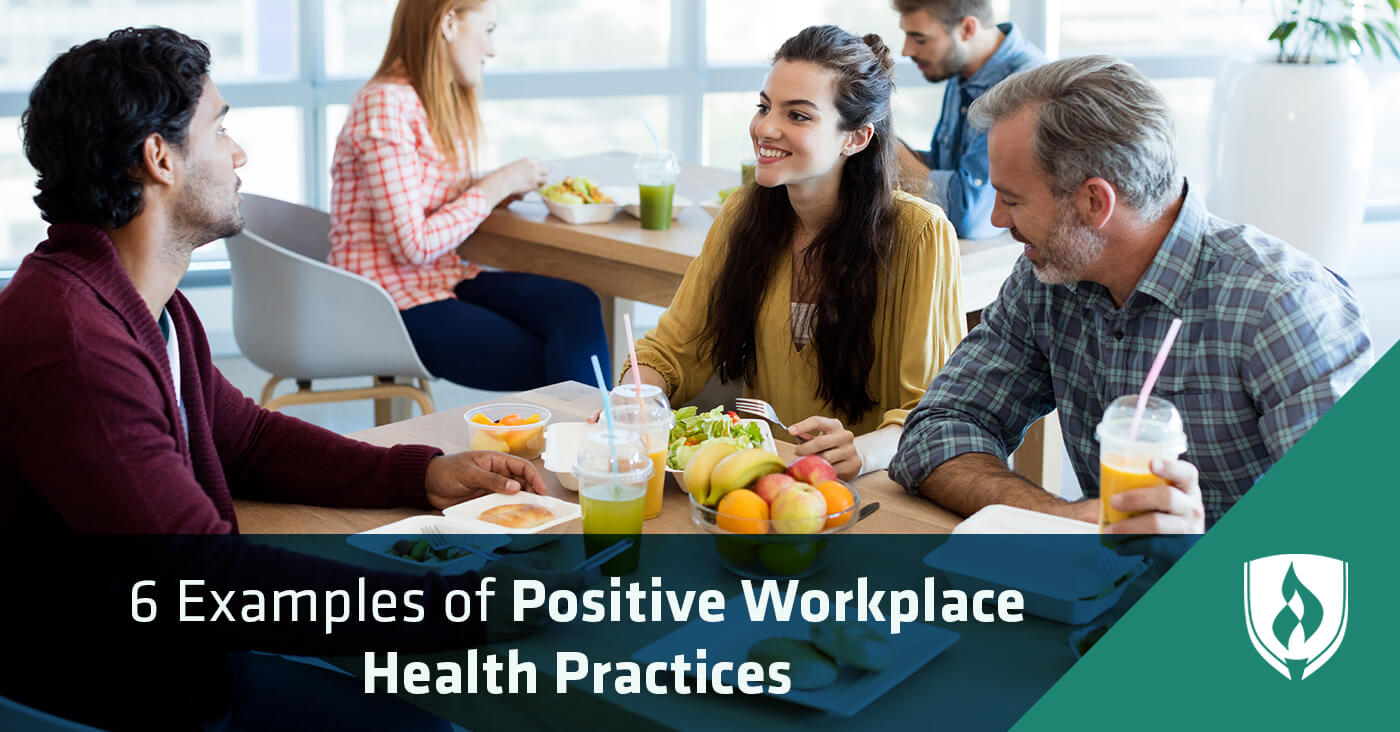 positive workplace health practices