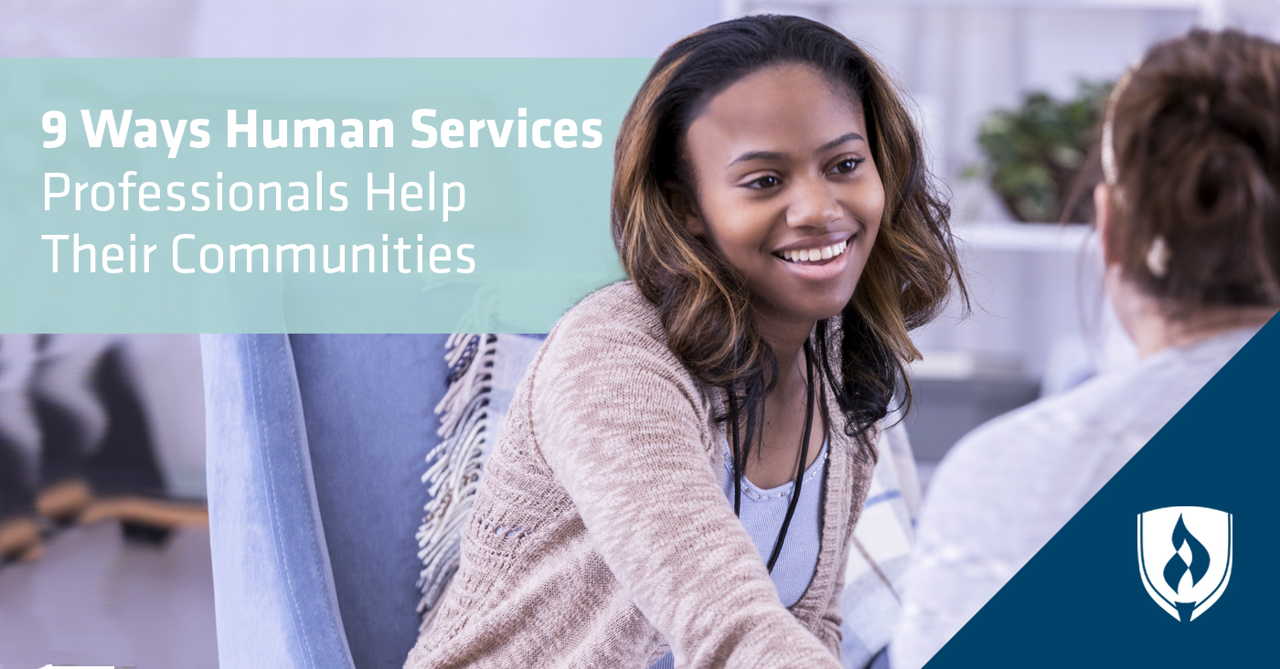 9 Ways Human Services Professionals Help Their Communities