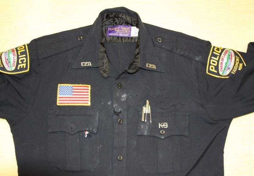 officers anow uniform