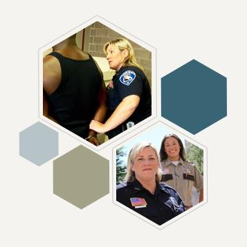 Image 2 of women officers in corrections workforce