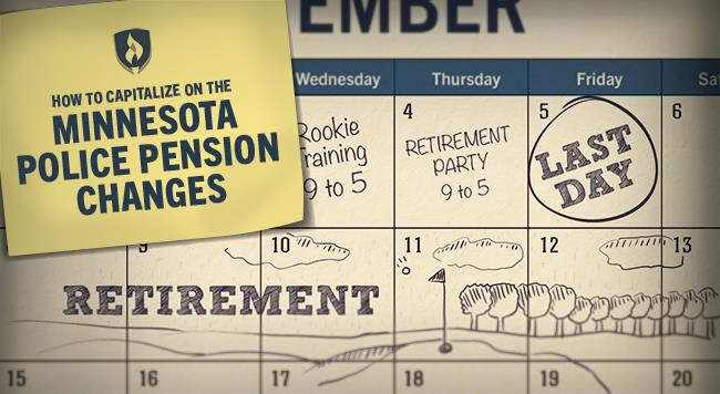 Minnesota police pension changes