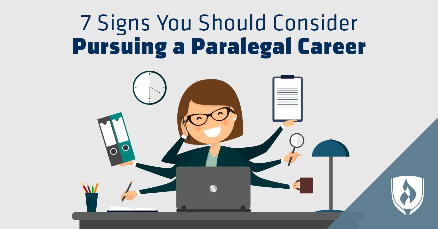 consider paralegal career