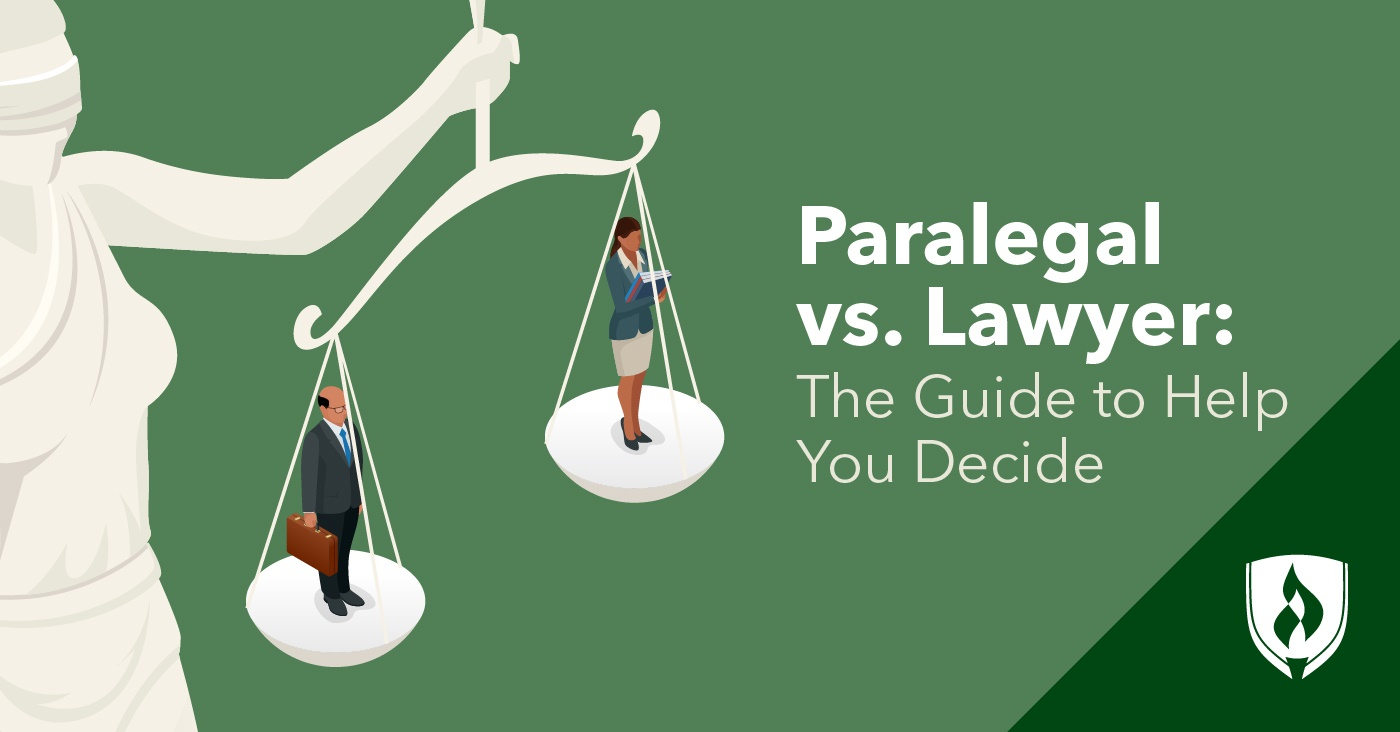 paralegal vs lawyer