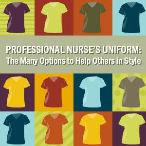 Professional nurse uniform