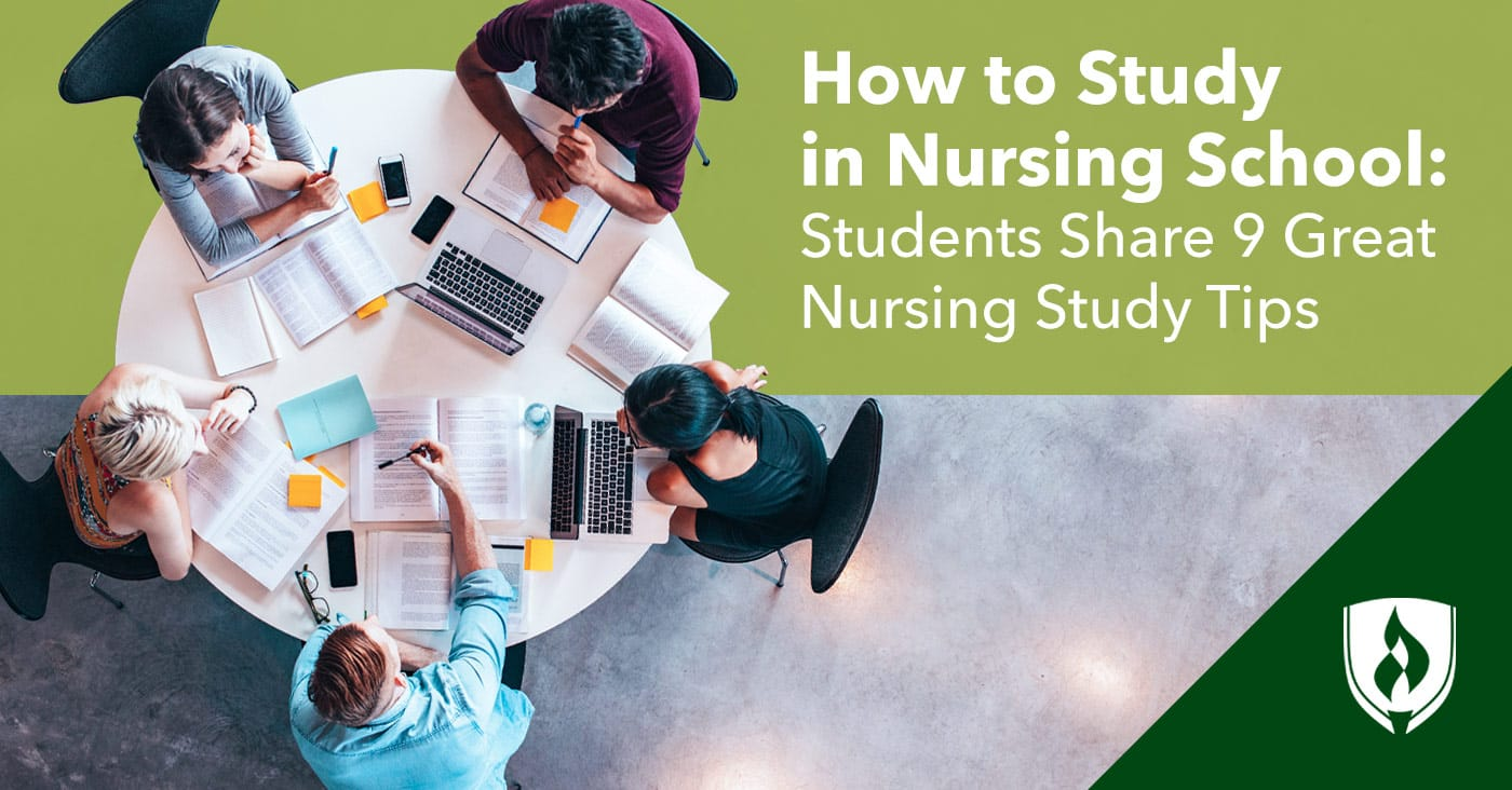 How to Study in Nursing School: Students Share 9 Great