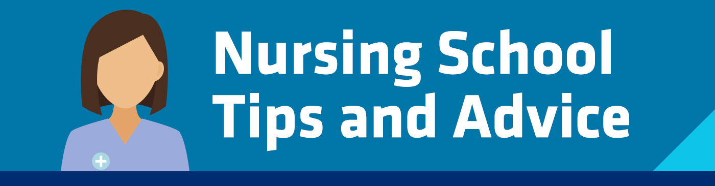 nursing school tips and advice header