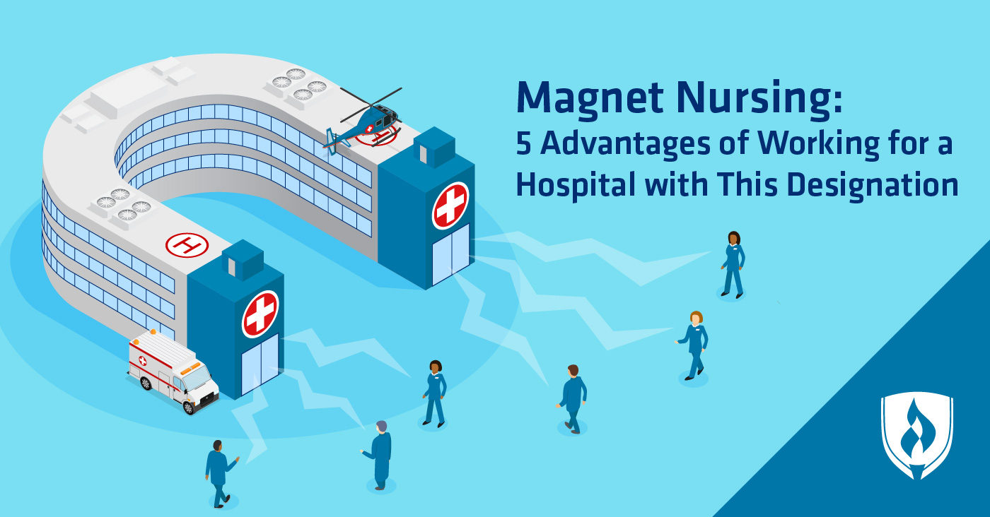 hospital in the shape of a magnet