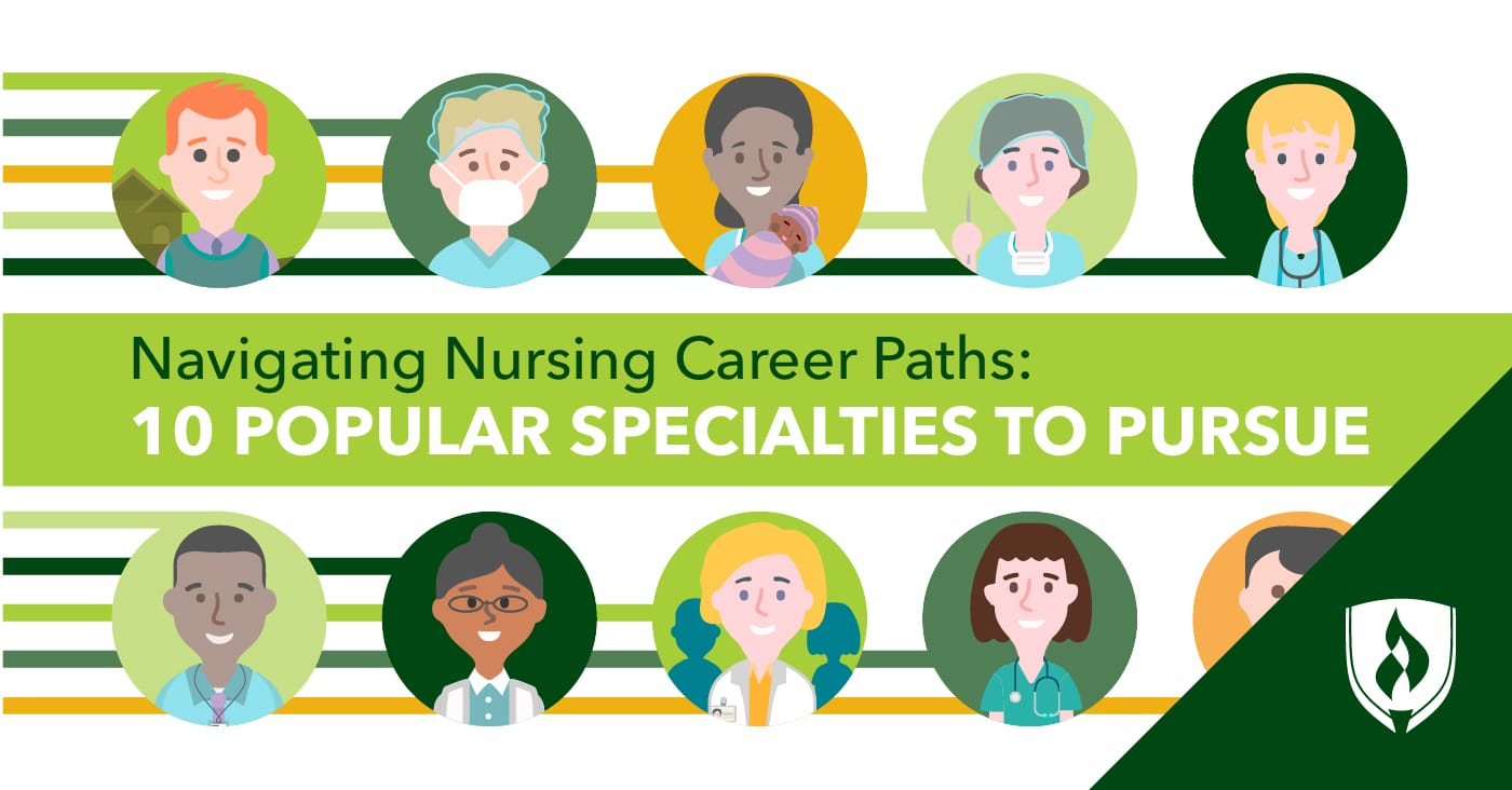portrayal of different nursing specialties