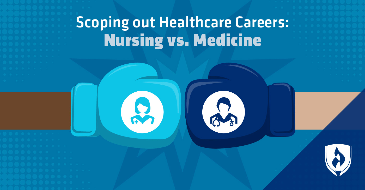 nursing vs medicine
