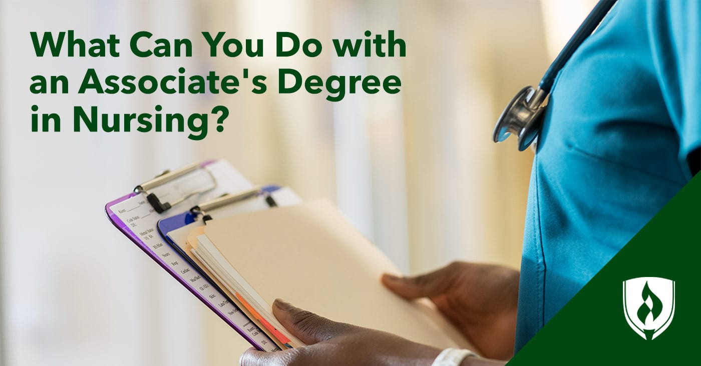 what can you do with an associate s degree in nursing rasmussen