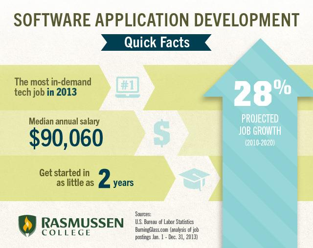 software application development facts