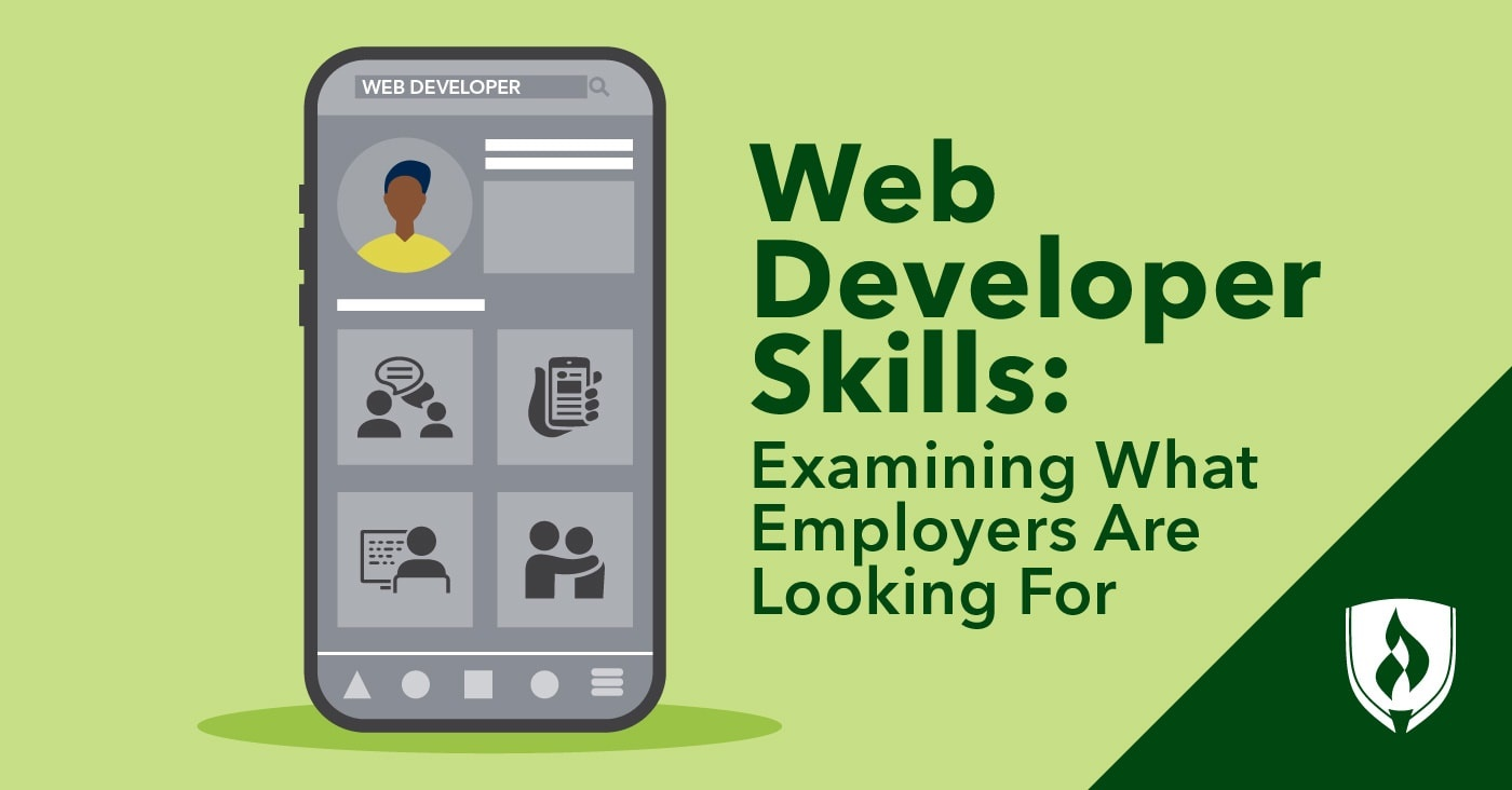 Web Developer Skills Examining What Employers Are Looking For Rasmussen College
