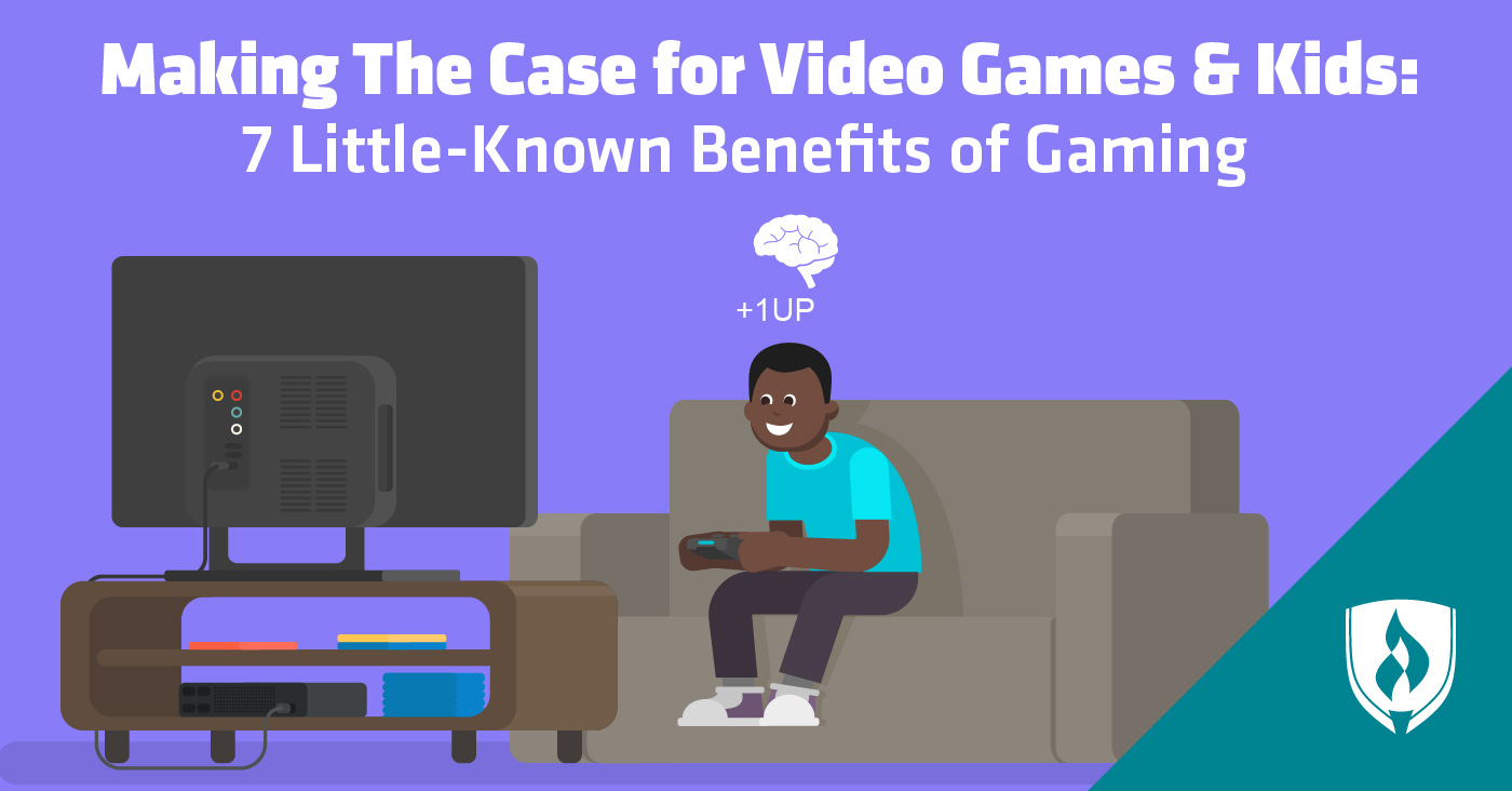 Little-known benefits of gaming for kids