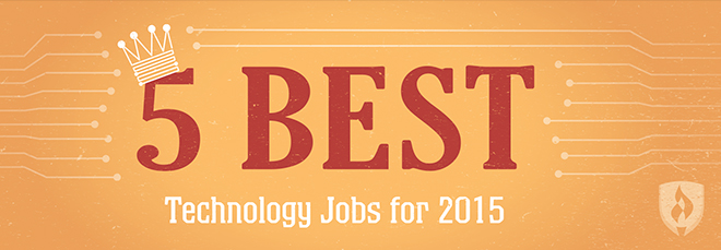 best technology jobs for 2015