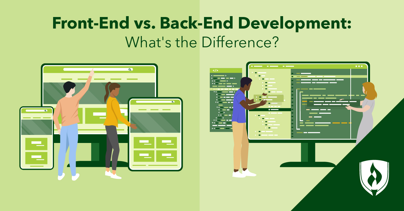 front-end vs back-end spectrum
