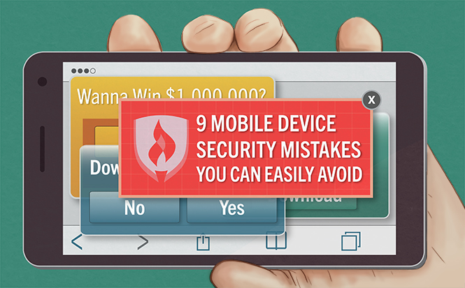 Mobile Device Security Mistakes to Avoid