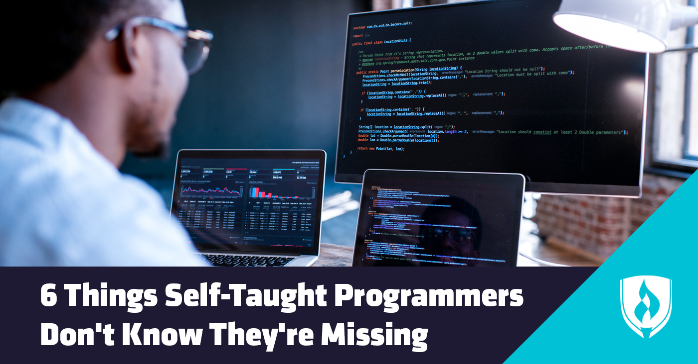 things self taught programmers dont know theyre missing