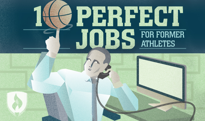 perfect jobs for former athletes