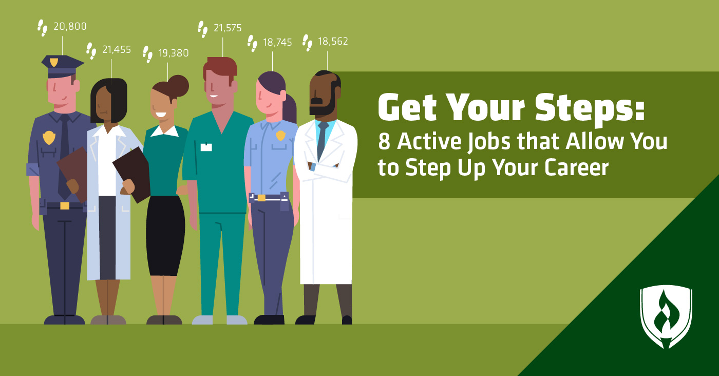 Active Jobs that Allow You to Step Up Your Career